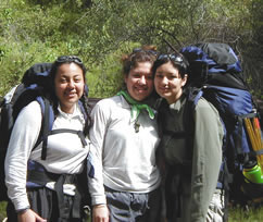 Yessica, Cindy and Susana