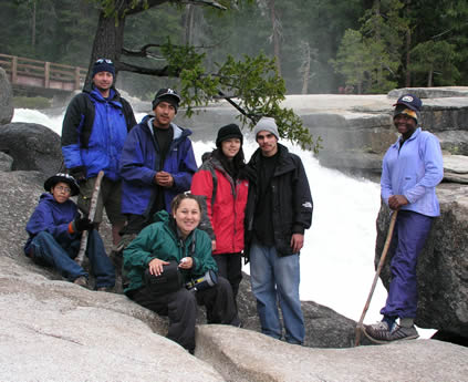 group at nevada falls