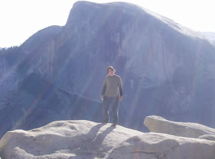 cool lighting on half dome