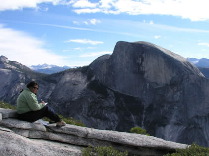 natalie by half dome