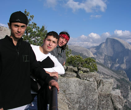 guys by half dome