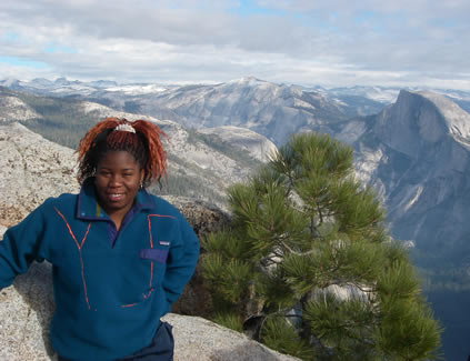 angela and half dome