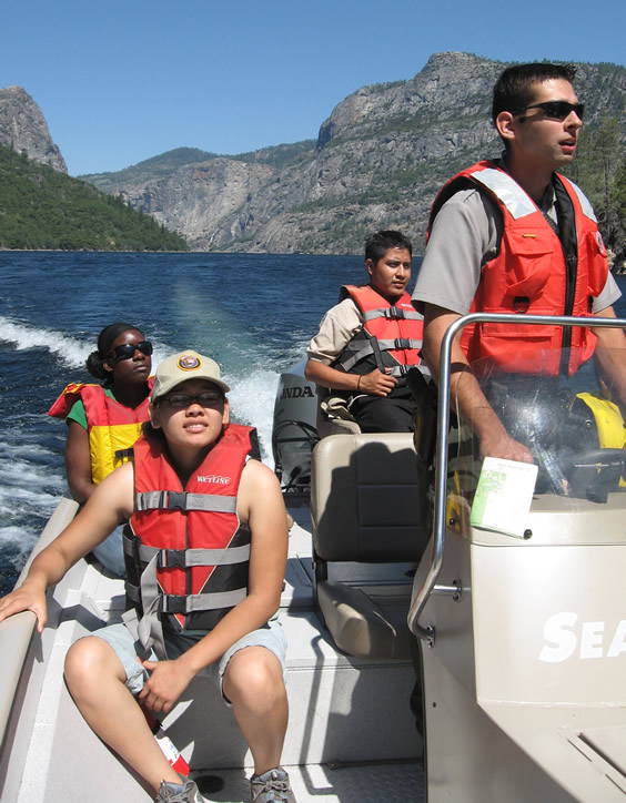 group at hetch hetchy
