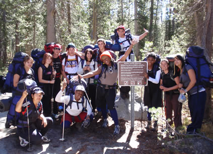 group trailhead