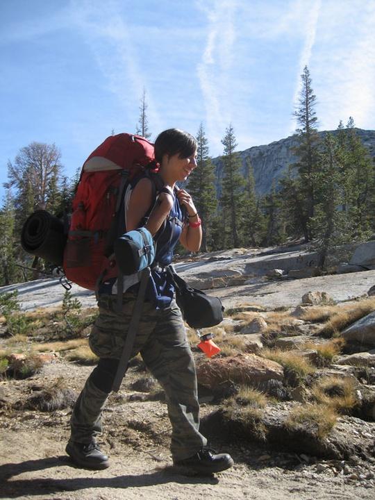 Mozie hiking