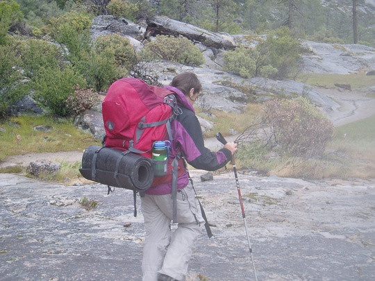 Jaslyn hiking