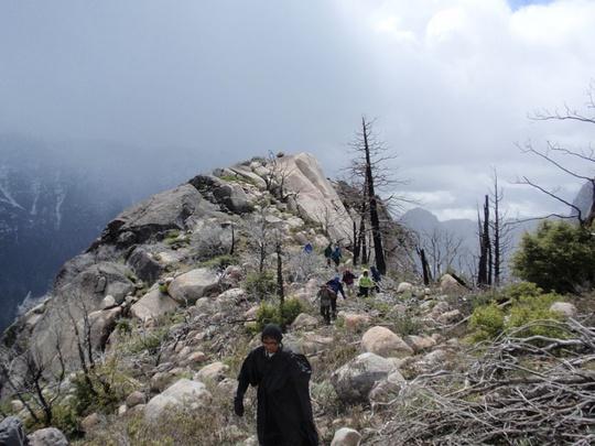 Antonio hiking