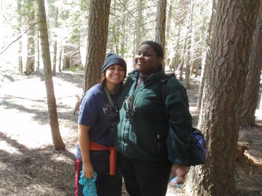 Jaleesa and Erica
