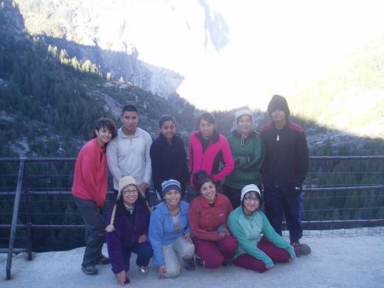group at nevada falls