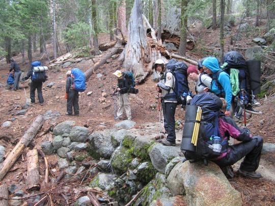 Cristobal Sasha Group Hiking