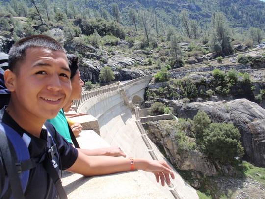 Juan with Dam