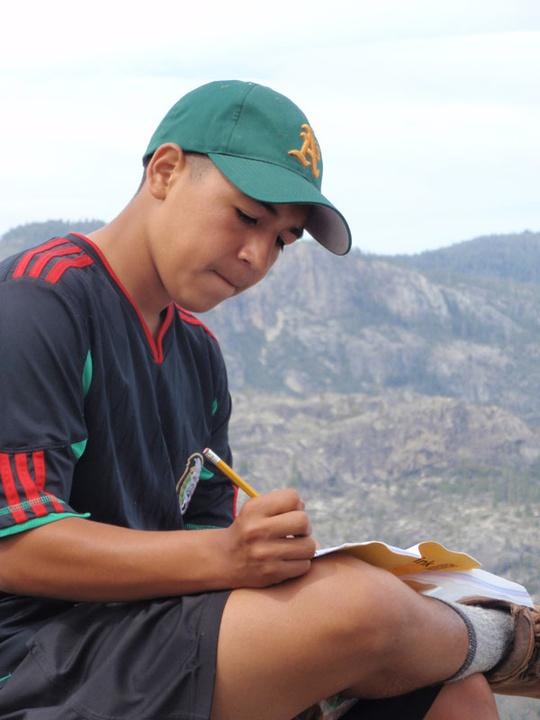 Juan Writing
