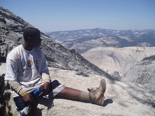 Charles Clouds Rest Ridge
