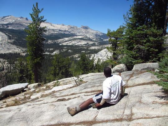 Charles Looking at View