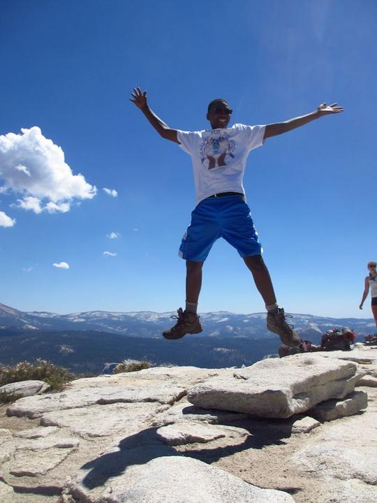 Trevon Jumping Photo