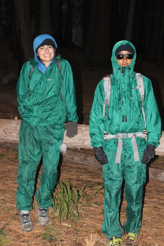 Lorena Jesus rain suits