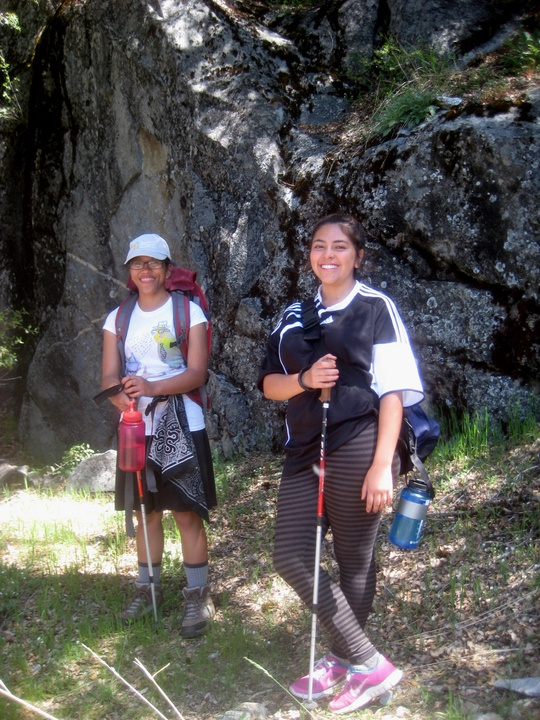 Ella and Leslie Trekking Poles
