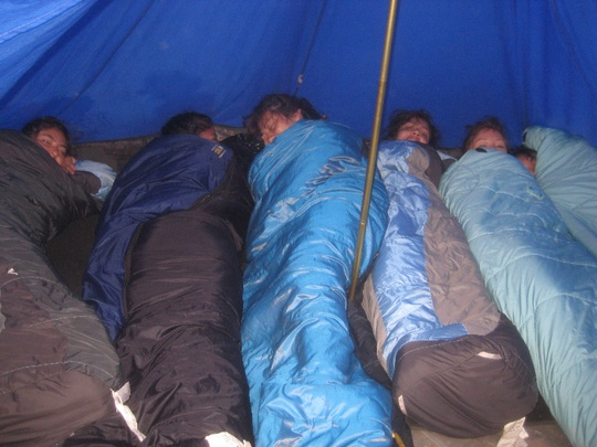Six in a Tent