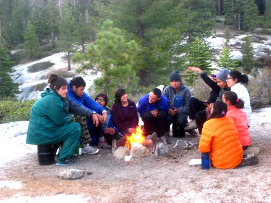 Group Campfire