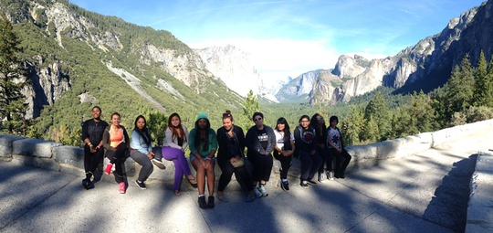 Group Tunnel View