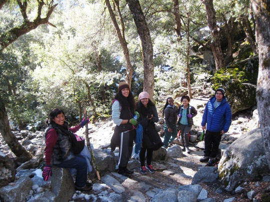 Yos Falls Trail Group