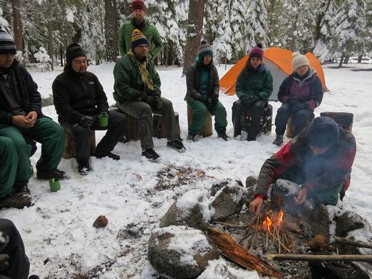 Tecpatl Campfire