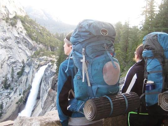 Tristan Nevada Falls