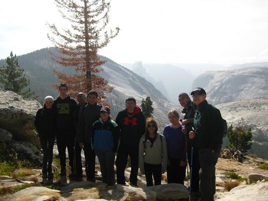 Group Tenaya Canyon