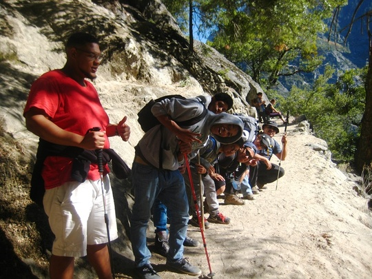 Falls Trail Lean