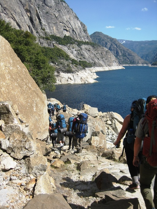 Group Trail Reservoir