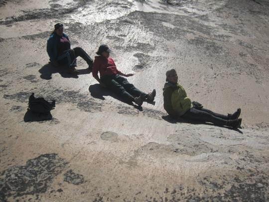 Glacial Polish Slide