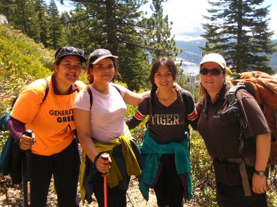 trail women