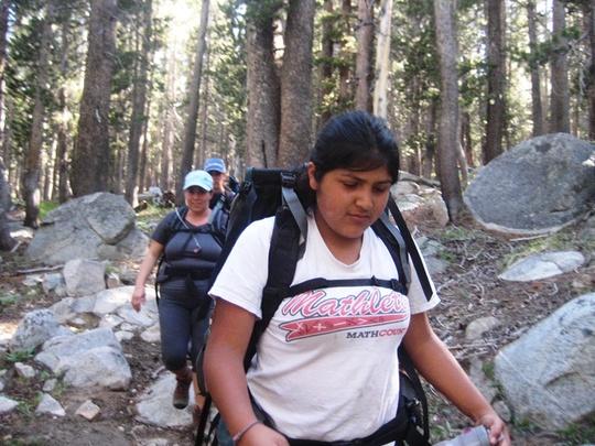 Yesi On Trail