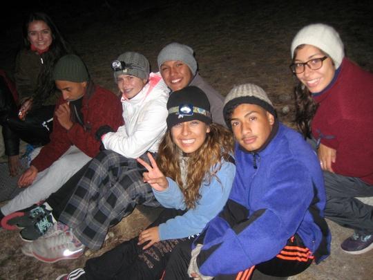 campfire sit