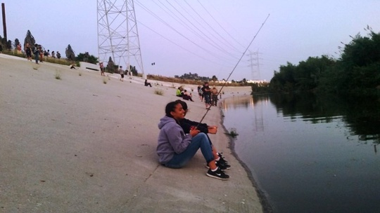 Fishing LA River