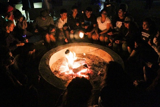 Gather Around Campfire