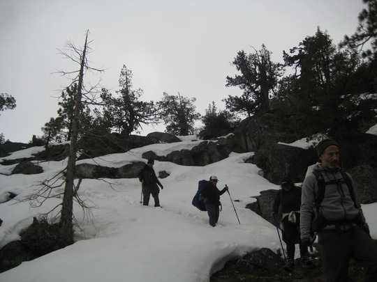 Snowy Challenge Hike