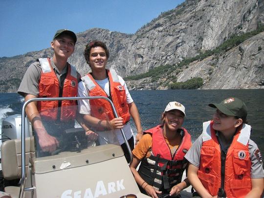 hetchy boat ride