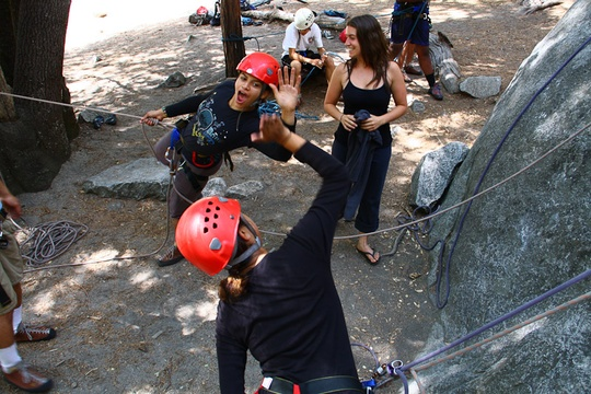 Climbing High Five